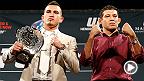 UFC Countdown vous emmène dans les coulisses de l'UFC 181.  L'actuel champion de l'UFC et ancien champion WEC, Anthony Pettis mettra son titre en jeu contre l'ancien champion Strikeforce, Gilbert Melendez.