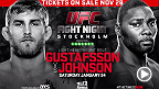 Tickets to the biggest UFC event ever in Europe go on sale this Friday 28th November. Alexander Gustafsson vs. Anthony Johnson as well as Dan Henderson vs. Gegard Mousasi at the 30,000 seater Tele2 Arena.