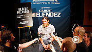 Before he fights for the lightweight title at UFC 181, Gilbert Melendez sits down with Megan Olivi to talk about everything from his start at Cesar Gracie Jui-Jitsu, to his epic fight with Diego Sanchez. Watch the full interview on UFC FIGHT PASS!