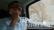 Anthony Pettis muses on his upcoming fight, while Gilbert Melendez makes his final preparations in San Francisco before boarding a flight to Las Vegas. Dana White and Lorenzo Fertitta announce groundbreaking apparel deal with Reebok.