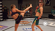 Relive the high-octane bout between Joanne Calderwood and Rose Namajunas!
