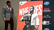 "Watch the unveiling of Anthony ""Showtime"" Pettis' cover of the Wheaties box. Pettis, who was joined on stage by UFC President Dana White, spoke about the honor of being chosen to represent the UFC."