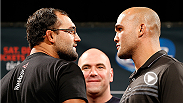 Catch up with UFC champions Johny Hendricks and Anthony Pettis, as well as superstars Robbie Lawler and Gilbert Melendez at the UFC 181 media day! Tune in to UFC 181 this Saturday, December 6, live on Pay-Per-View.