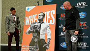 UFC correspondent Megan Olivi catches Dana White at the UFC 181 media day following the unveiling of Anthony Pettis' Wheaties box cover. Hear why White thinks Pettis is the right man for the box and his thoughts on the landmark partnership with Reebok.