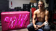 Fighters Urijah Faber, T.J. Dillashaw, Chad Mendes, Joe Benavidez, Danny Castillo, Andre Fili, Chris Holdsworth and the Alpha Male Team shoot a tribute to the movie Fight Club on the 15 year anniversary.