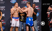 Watch the official weigh-in for UFC Fight Night: Dos Santos vs. Miocic