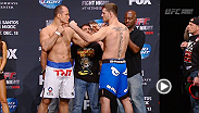 Watch the official weigh-in for UFC Fight Night: Dos Santos vs. Miocic, live Friday, December 12 at 10pm GMT.