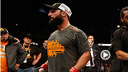 UFC correspondent Megan Olivi spoke to former UFC welterweight champion Johny Hendricks about his disappointing loss to Robbie Lawler at UFC 181.