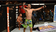 Surging lightweight prospect Tony Ferguson looks back at his win over Abel Trujillo during the UFC 181 main card.