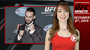 UFC Minute host Lisa Foiles recaps UFC 181 and the changes to the welterweight landscape, and looks ahead to the two events coming up this weekend.