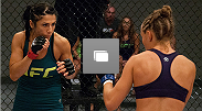 Photos from the battle between Ultimate Fighter semifinalists Rose Namajunas and Randa Markos.