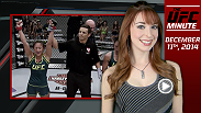 UFC Minute host Lisa Foiles recaps this season of The Ultimate Fighter: A Champion Will Be Crowned and looks ahead to UFC veteran Mark Munoz's return to the Octagon.