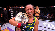 Hear from new 115-lb. champion Carla Esparza immediately following her victory over Rose Namajunas at The Ultimate Fighter Finale!