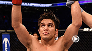 Henry Cejudo was victorious in his UFC debut against Dustin Kimura in front of his hometown of Phoenix. He took a few minutes afterwards to talk about his performance with UFC correspondent Megan Olivi.