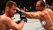 Hear from former UFC heavyweight champion Junior Dos Santos inside the Octagon immediately following his unanimous decision victory over Stipe Miocic at Fight Night Phoenix.