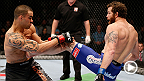 With the fourth most middleweight victories, Nate Marquardt adds to the win column by submitting James Te Huna via armbar. Watch Marquardt battle Brad Tavares during the main card at UFC 182 in Las Vegas, Nevada.
