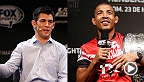 Watch the Q&A with featherweight champ Jose Aldo and top bantamweight contender Dominick Cruz, live Friday, December 19 at 1pm/10am ETPT.