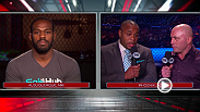 No. 1 contender Daniel Cormier and UFC light heavyweight champion Jon Jones spoke to UFC color commentator Joe Rogan during Fight Night Phoenix on FOX on Dec. 13.