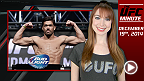 UFC Minute host Lisa Foiles has all you need to know about the Fight Night Barueri weigh-in in today's UFC Minute!