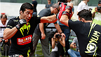 UFC superstar Lyoto Machida, headliner CB Dollaway, and the rest from Fight Night Barueri put on an Open Workout for fans before taking the Octagon on Saturday.