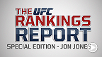 The Rankings Report is a weekly UFC.com series that gives you, the fans, an in-depth look into the official UFC rankings. This week host Matt Parrino sits down with UFC light heavyweight champion Jon Jones for a special edition.