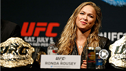 UFC women's bantamweight champion Ronda Rousey thanks all of her loyal fans for their submissions to the Ronda Rousey T-Shirt design contest!