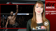 UFC Minute host Lisa Foiles looks ahead to the action-packed card at UFC 182 and a key lightweight matchup added to the Fight Night Porto Alegre lineup.
