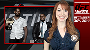 UFC Minute host Lisa Foiles runs down all the need-to-know news for today, Tuesday, December 30th.