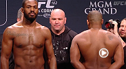 Watch the official weigh-in for UFC 182: Jones vs. Cormier.