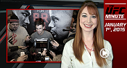 Happy New Year! UFC Minute host Lisa Foiles runs down all the news, including today's Ultimate Media Day and CM Punk's decision on a training camp.