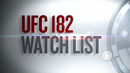 UFC matchmakers Sean Shelby and Joe Silva look at some of the intriguing matchups that highlight the UFC 182 main card. Make sure to watch all the stars in action this Saturday at UFC 182, live on Pay-Per-View.