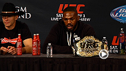 Hear from UFC 182 headliners Jon Jones and Daniel Cormier following their main event brawl. Jones relishes in victory while Cormier reflects on another opportunity lost.