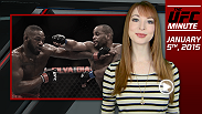 UFC Minute host Lisa Foiles reviews all the action from UFC 182 and takes a deeper look at the UFC 185 main event.