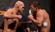 "All-American wrestler Ryan ""Darth"" Bader throws heavy punches against Keith Jardine and earns himself a knockout victory for the night. Bader looks to battle another All-American wrestler in Phil Davis during the main card at UFC Fight Night Stockholm."
