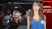UFC Minute host Lisa Foiles runs down all the need to know news, including Donald Cerrone's quick jump back into the Octagon and Uriah Hall's new opponent in Boston.