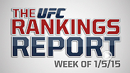 The Rankings Report is a weekly UFC.com series that gives you, the fans, an in-depth look into the official UFC rankings. This week Matt Parrino and Forrest Griffin talk about the fallout from UFC 182.