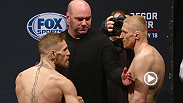 Watch the official weigh-in for UFC Fight Night: McGregor vs. Siver.