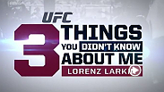Get to know welterweight Lorenz Larkin, who has a couple self-admitted problems with OCD. Larkin takes his talents, and painted toes, into the Octagon this Sunday at Fight Night Boston.