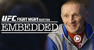 "Dennis Siver does media and breaks down the animosity between him and Conor McGregor. In the gym, McGregor works his striking and Benson Henderson gets in some jiu-jitsu. ""Cowboy"" Cerrone and his camp struggle with baggage as they arrive."