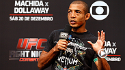 UFC featherweight champion Jose Aldo offers his take on a wide variety of topics, including his fight with Chad Mendes, Conor McGregor's position in the featherweight division, and where he'd like his next title defense to take place.