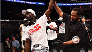 Hear from rising middleweight Uriah Hall, who scored a TKO over UFC newcomer Ron Stalling at Fight Night Boston. Hall tells Megan Olivi how he kept the right mindset throughout his fight camp and how he felt about Stallings over the opponent.
