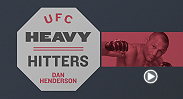 "The legendary Dan Henderson talks about his infamous H-bomb and where he gets his power from in this special edition of ""Heavy Hitters."" Henderson faces Gegard Mousasi i"