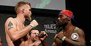 Check out the highlights from the Fight Night Stockholm weigh-ins that went down on Friday. Alexander Gustafsson, Anthony Johnson, Dan Henderson, and Gegard Mousasi all stepped on the scale and faced off before fight night.