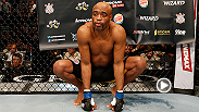 "For a long time people thought Anderson Silva was invincible, but ""The Spider"" explains that everyone has a dark cloud moment. The former middleweight champ is focused on the positives heading into UFC 183 vs. Nick Diaz."