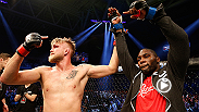 Right after Anthony Johnson finished Alexander Gustafsson by knockout in the first round, both fighters gave their reactions to the bout in an Octagon Interview with Joe Rogan.