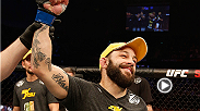 After an impressive first-round TKO victory over Akira Corassani at Fight Night Stockholm, Sam Sicilia spoke to UFC correspondent Caroline Pearce to talk about his handiwork.