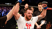 UFC correspondent Caroline Pearce caught up with Ryan Bader backstage at Fight Night Stockholm after his decision victory over Phil Davis on the main card.