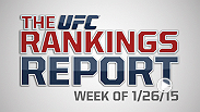 The Rankings Report is a weekly UFC.com series that gives you, the fans, an in-depth look into the official UFC rankings. This week Matt Parrino and Forrest Griffin talk about Anthony Johnson's big win and look ahead to Anderson Silva vs. Nick Diaz.