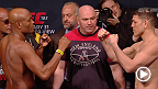 Watch the official weigh-in for UFC 183: Silva vs. Diaz live Saturday, January 31 at 11am AEDT.