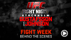 Take an exclusive look behind the scenes of UFC Fight Night Stockholm fight week and see what went into producing the biggest ever UFC event in Europe!